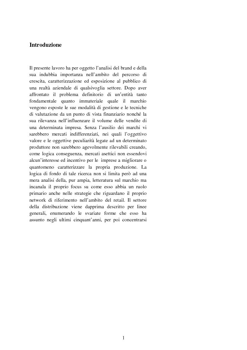 Anteprima della tesi: Il valore strategico della marca nel retail. Il caso Montblanc, Pagina 2
