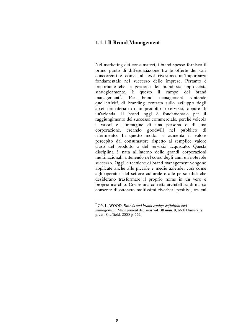 Anteprima della tesi: Il valore strategico della marca nel retail. Il caso Montblanc, Pagina 9