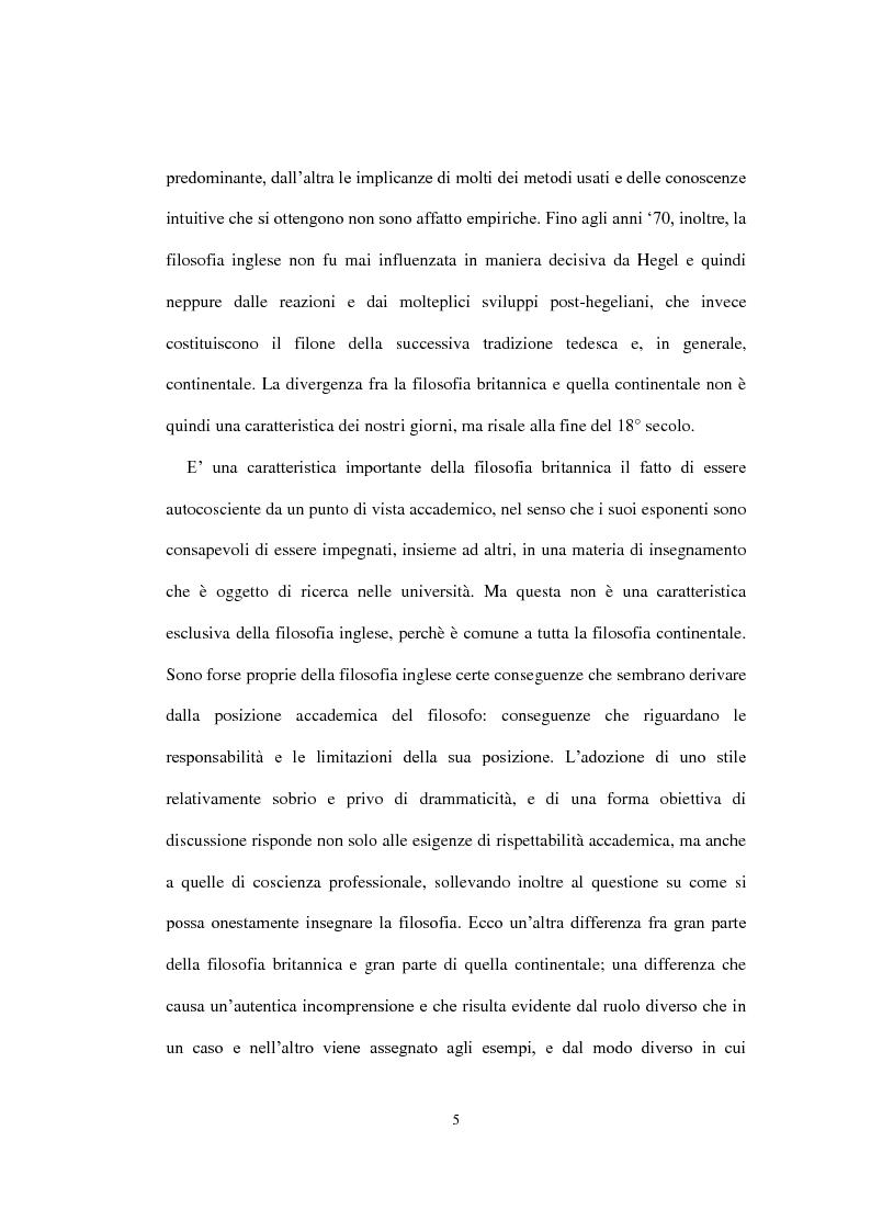"""Anteprima della tesi: La concezione della morale di Bernard Williams; con un saggio di traduzione da """"Morality"""", 1972, Pagina 6"""