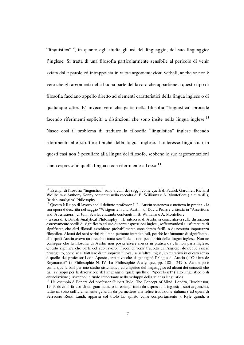 """Anteprima della tesi: La concezione della morale di Bernard Williams; con un saggio di traduzione da """"Morality"""", 1972, Pagina 8"""