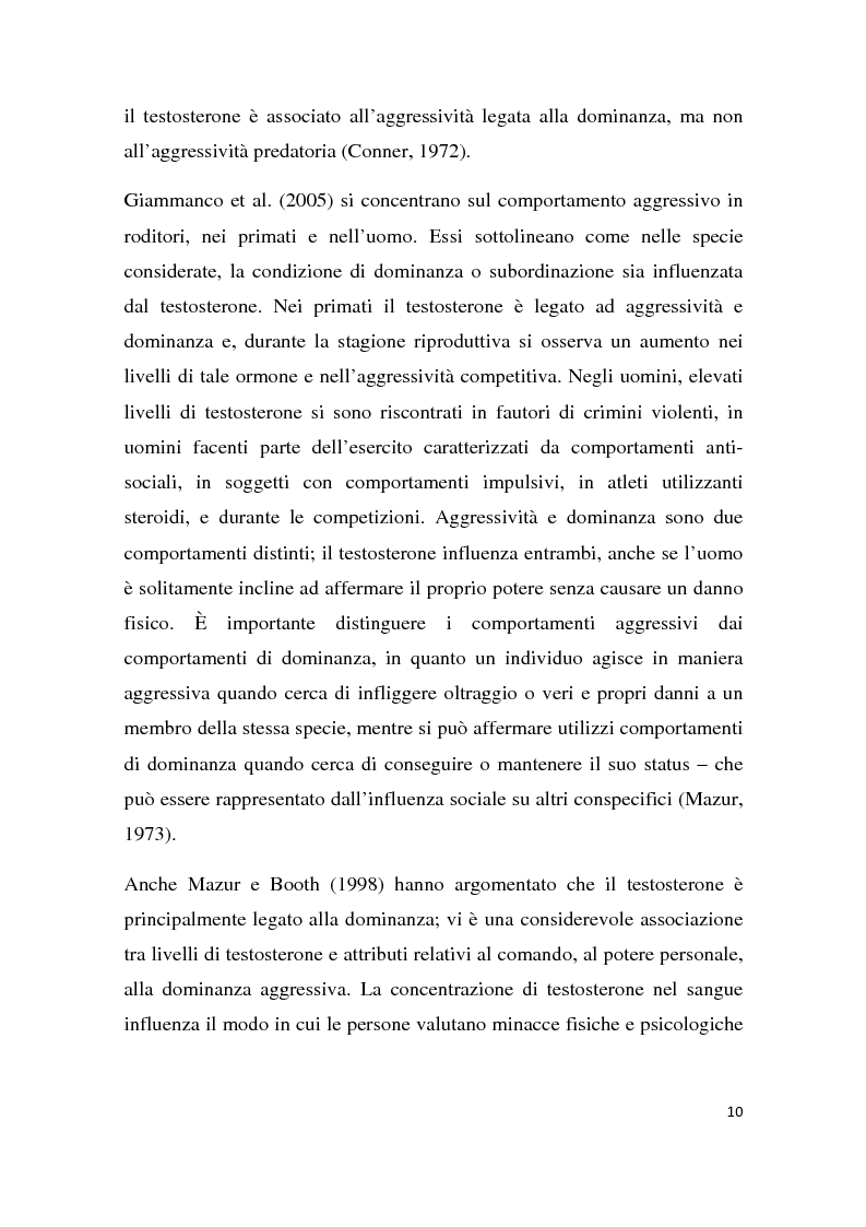 Anteprima della tesi: Effetti degli inibitori della fosfodiesterasi-5 (PDE-5) sul comportamento agonistico e sessuale in un modello animale, Pagina 7