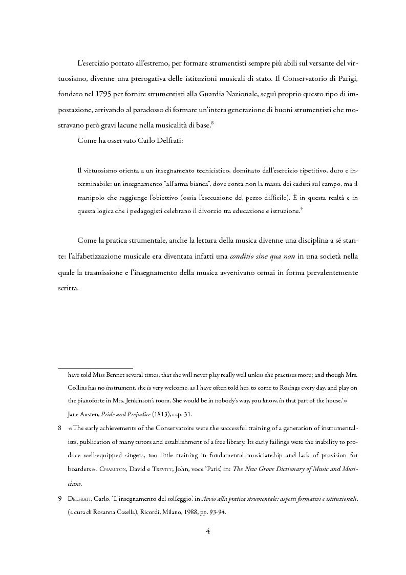 Anteprima della tesi: La lettura a prima vista nella didattica della chitarra, Pagina 5