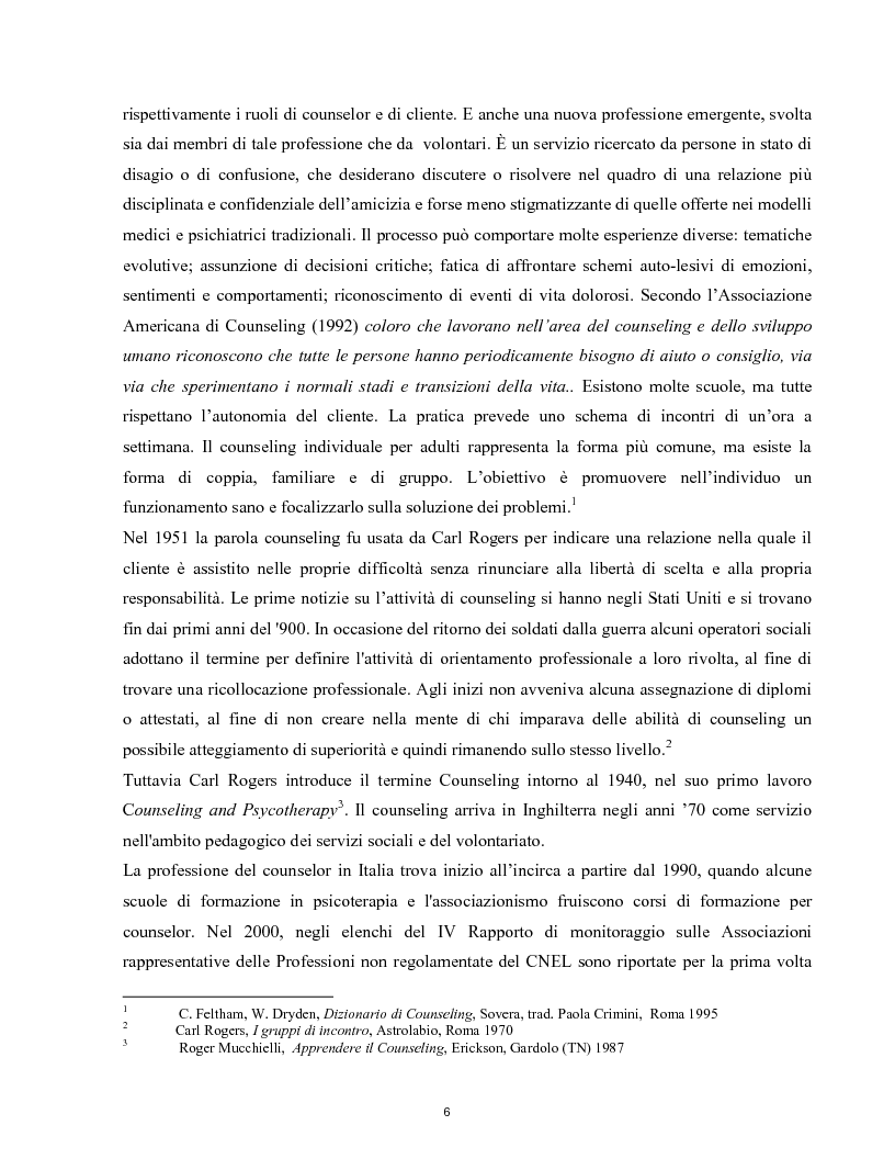 Anteprima della tesi: Raccontarsi attraverso l'arte, il counseling nel processo esperenziale dell'espressione artistica, Pagina 3