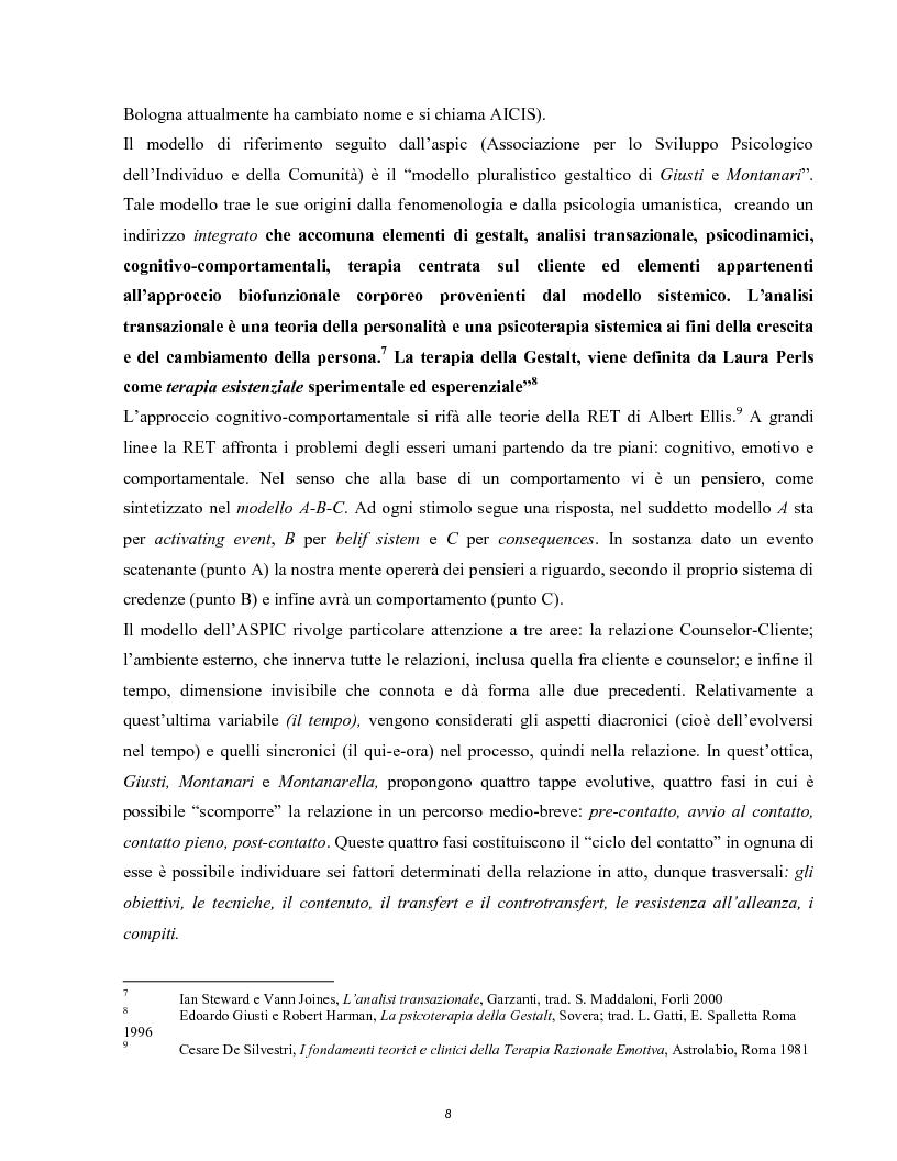 Anteprima della tesi: Raccontarsi attraverso l'arte, il counseling nel processo esperenziale dell'espressione artistica, Pagina 5