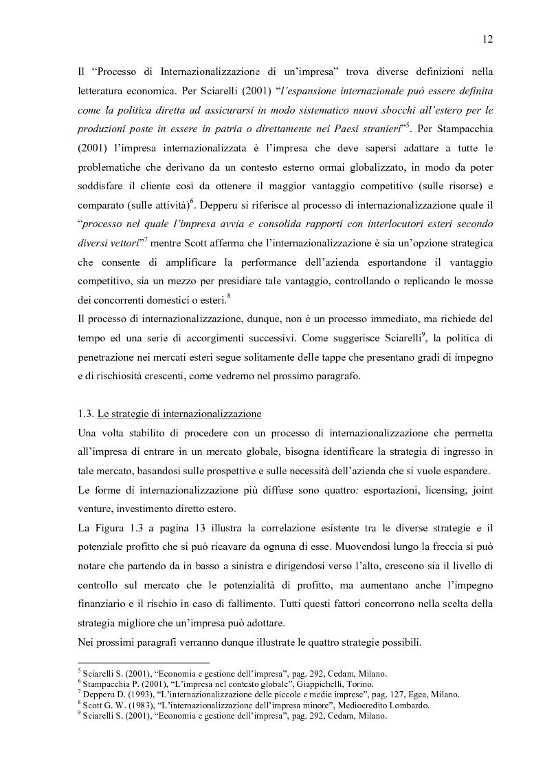 Anteprima della tesi: Internazionalizzazione 2.0: Web Marketing, Web Communication e Web Promotion al servizio delle PMI. Il caso Inspiring Software, Pagina 7