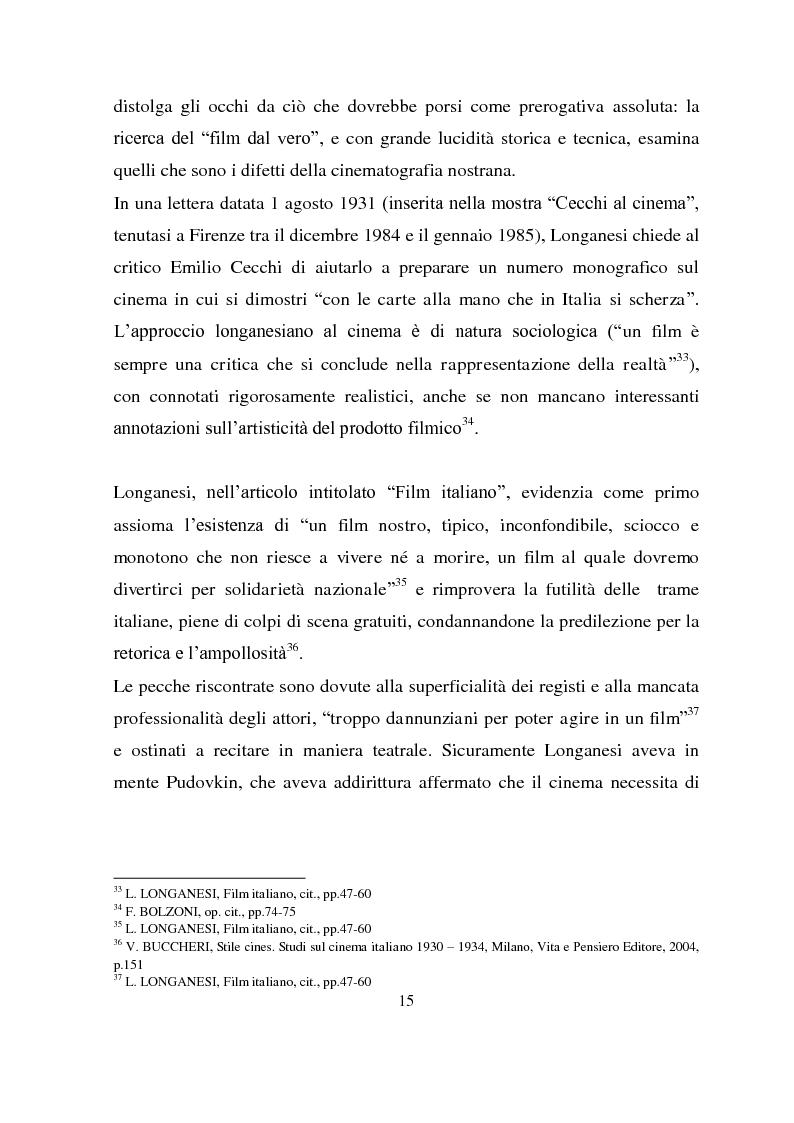 Anteprima della tesi: Longanesi e il cinema: da ''Dieci minuti di vita'' a ''Vivere ancora'', Pagina 12