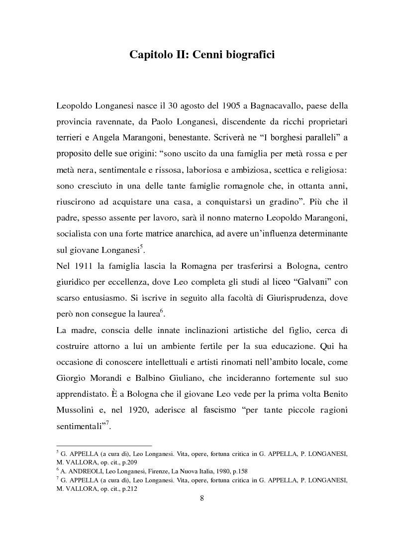Anteprima della tesi: Longanesi e il cinema: da ''Dieci minuti di vita'' a ''Vivere ancora'', Pagina 5