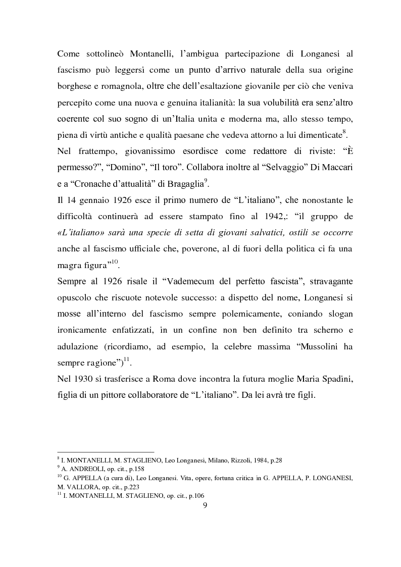 Anteprima della tesi: Longanesi e il cinema: da ''Dieci minuti di vita'' a ''Vivere ancora'', Pagina 6