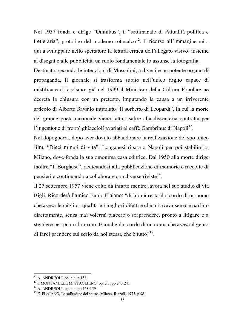 Anteprima della tesi: Longanesi e il cinema: da ''Dieci minuti di vita'' a ''Vivere ancora'', Pagina 7