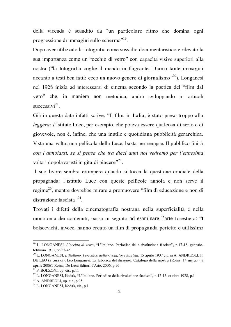 Anteprima della tesi: Longanesi e il cinema: da ''Dieci minuti di vita'' a ''Vivere ancora'', Pagina 9