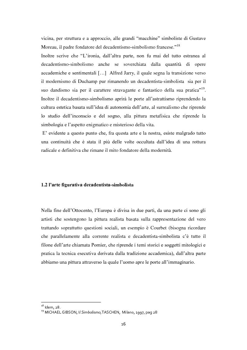 Anteprima della tesi: Odilon Redon, il principe del sogno. Un viaggio nell'inconscio attraverso le analisi di ventuno opere, Pagina 12