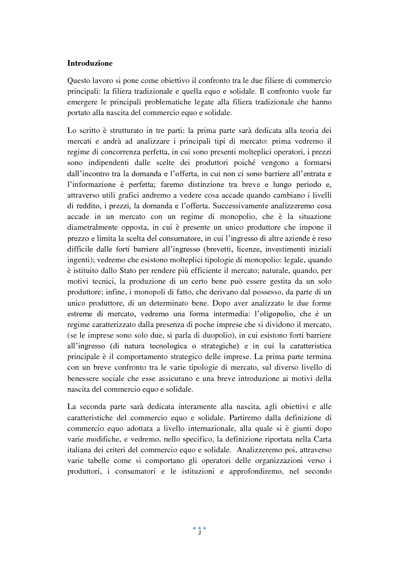 Anteprima della tesi: La formazione del prezzo nel Commercio Equo e Solidale, Pagina 2