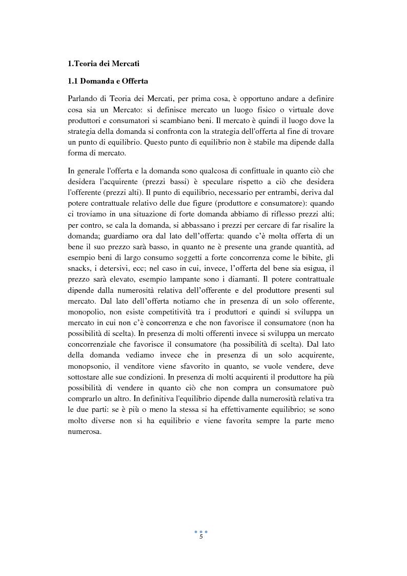 Anteprima della tesi: La formazione del prezzo nel Commercio Equo e Solidale, Pagina 4