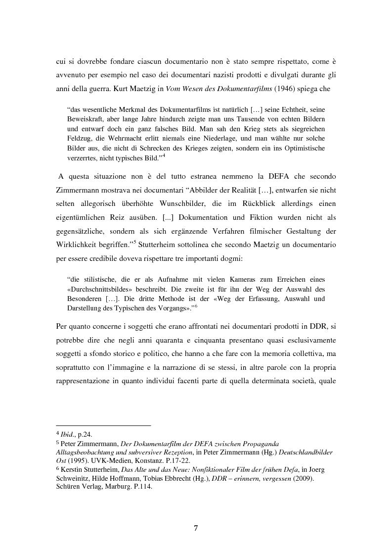 Anteprima della tesi: Costruire l'inimmaginabile: lo spostamento della prospettiva nei documentari DEFA sull'orrore nazista, Pagina 7