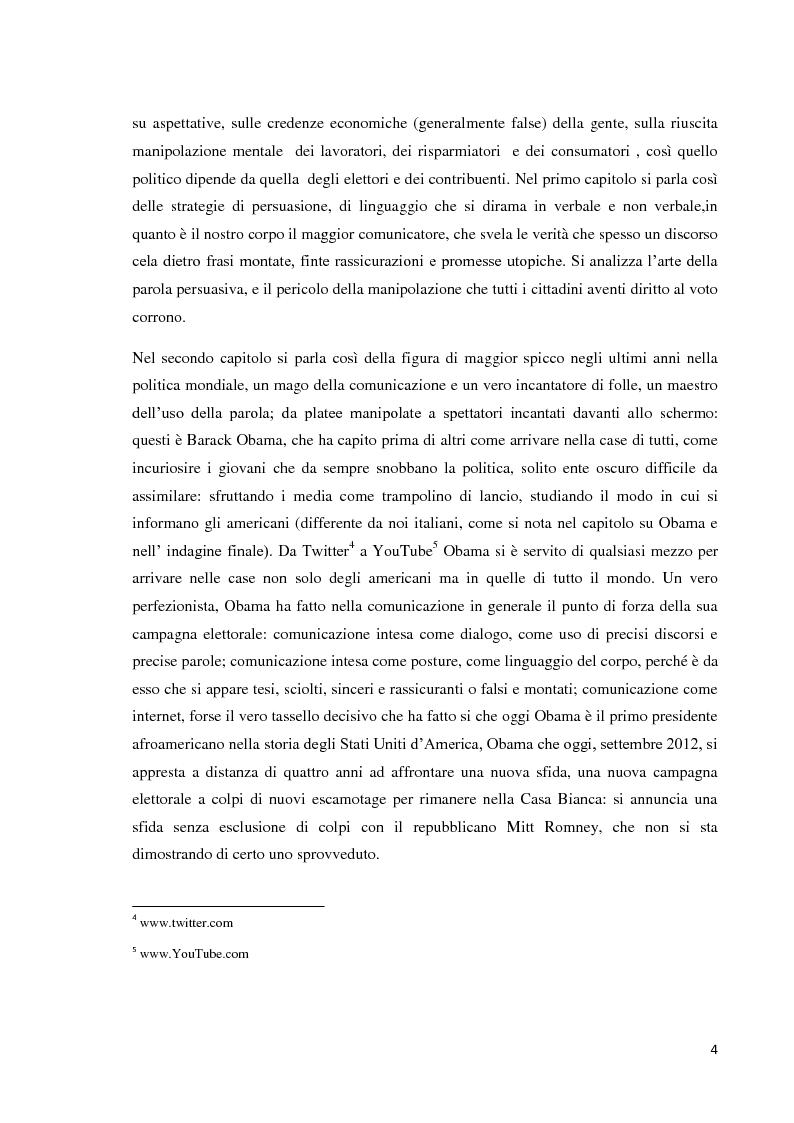 Anteprima della tesi: Media e democrazia: nasce la politica 2.0, Pagina 4