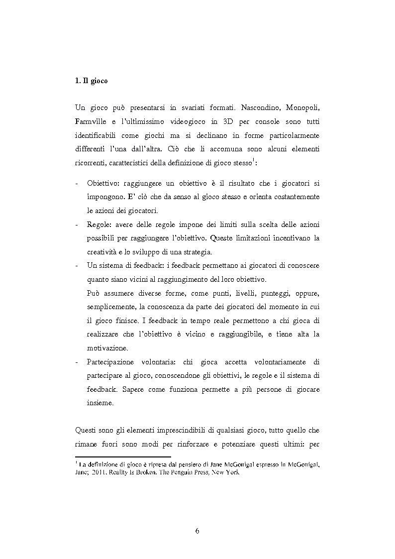 Anteprima della tesi: Gamification: applicazioni di game design in ambiti non ludici, Pagina 3