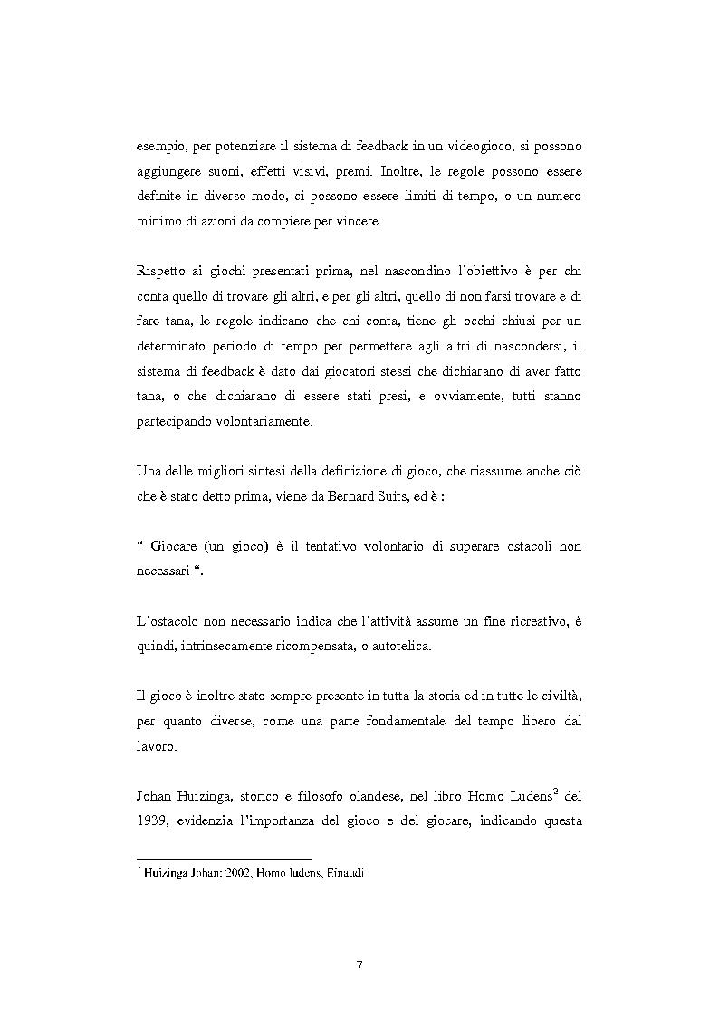 Anteprima della tesi: Gamification: applicazioni di game design in ambiti non ludici, Pagina 4