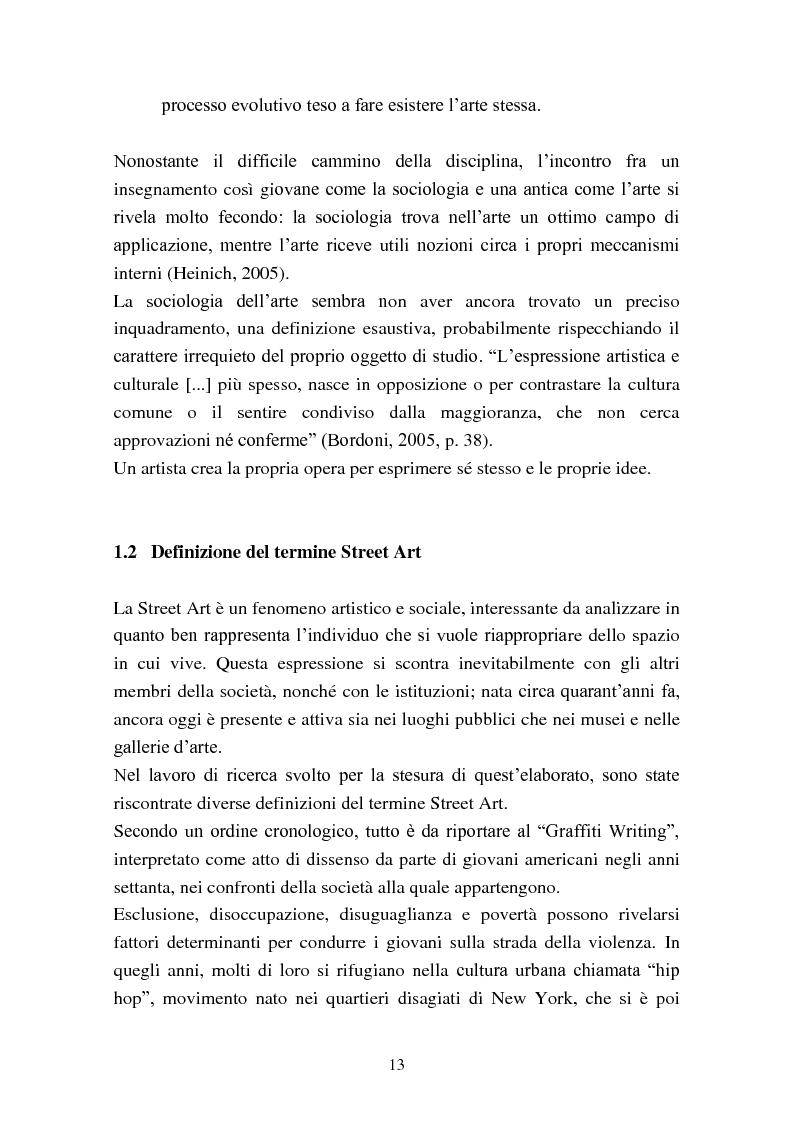 Anteprima della tesi: Street Art: itinerari controversi, Pagina 10