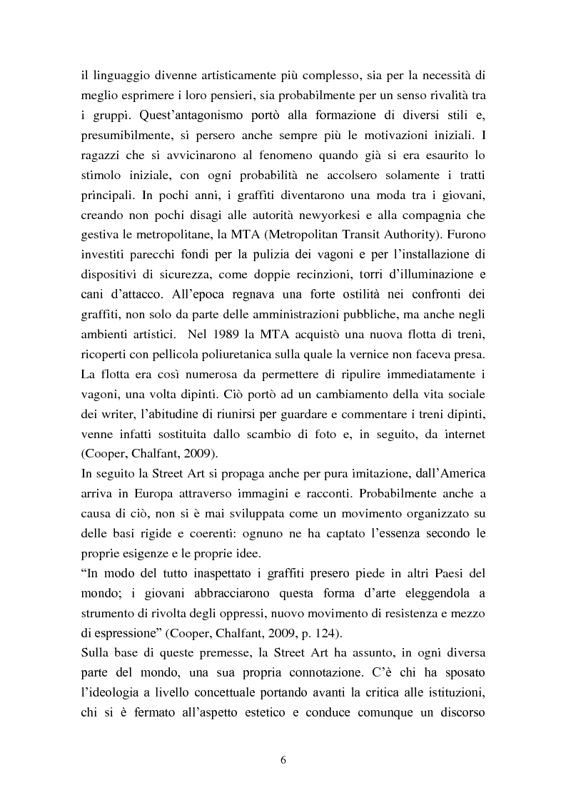 Anteprima della tesi: Street Art: itinerari controversi, Pagina 3