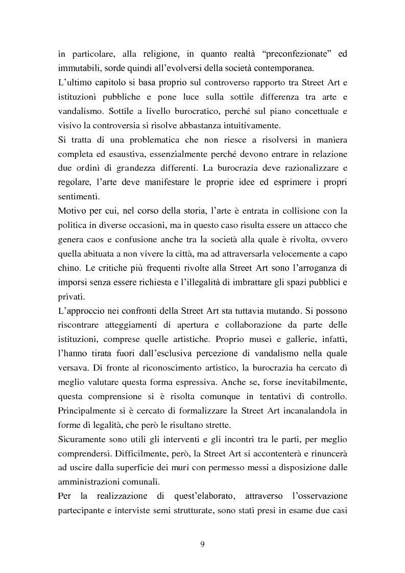 Anteprima della tesi: Street Art: itinerari controversi, Pagina 6