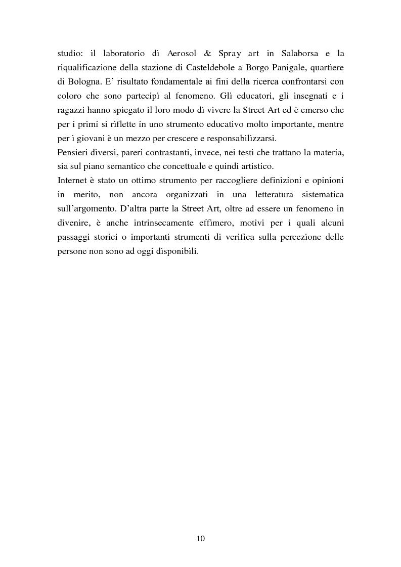 Anteprima della tesi: Street Art: itinerari controversi, Pagina 7