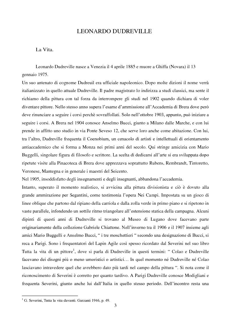 Anteprima della tesi: Leonardo Dudreville, Pagina 3