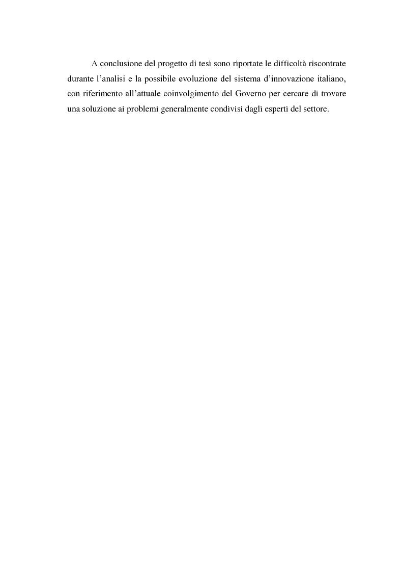 Anteprima della tesi: Italia start-up: analisi e critica del processo d'incubazione di nuove imprese, Pagina 4