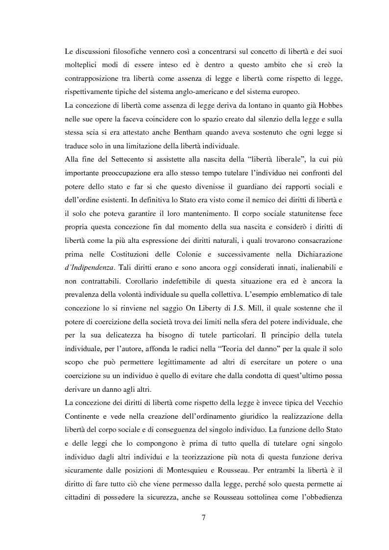 Anteprima della tesi: Testamento biologico e   principio di Autodeterminazione, Pagina 8