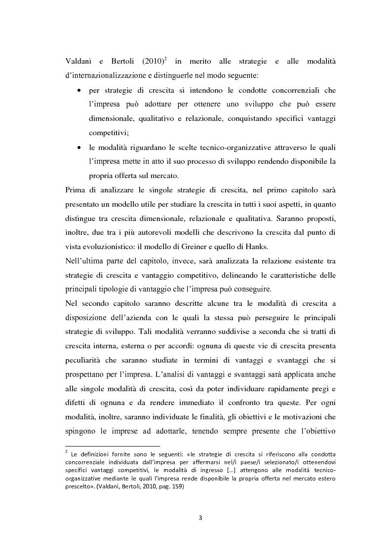 Anteprima della tesi: Il licensing nell'ambito delle strategie di crescita delle imprese. Il caso Ittierre, Pagina 3