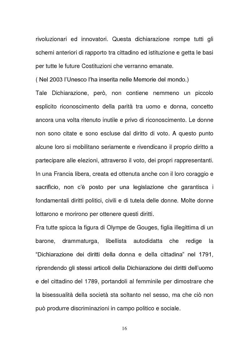 Anteprima della tesi: L'evoluzione della tutela della lavoratrice madre nel mondo del lavoro., Pagina 13