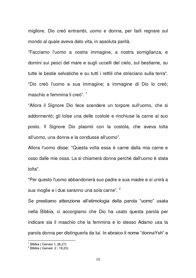 Anteprima della tesi: L'evoluzione della tutela della lavoratrice madre nel mondo del lavoro., Pagina 7