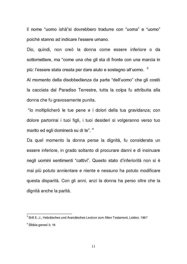 Anteprima della tesi: L'evoluzione della tutela della lavoratrice madre nel mondo del lavoro., Pagina 8