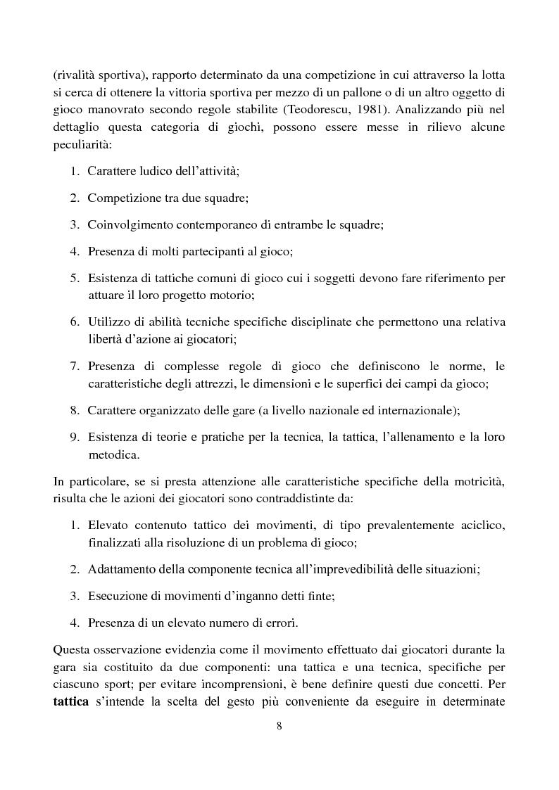 Anteprima della tesi: Il metodo Coerver Coaching applicato ai calciatori della categoria Esordienti, Pagina 6