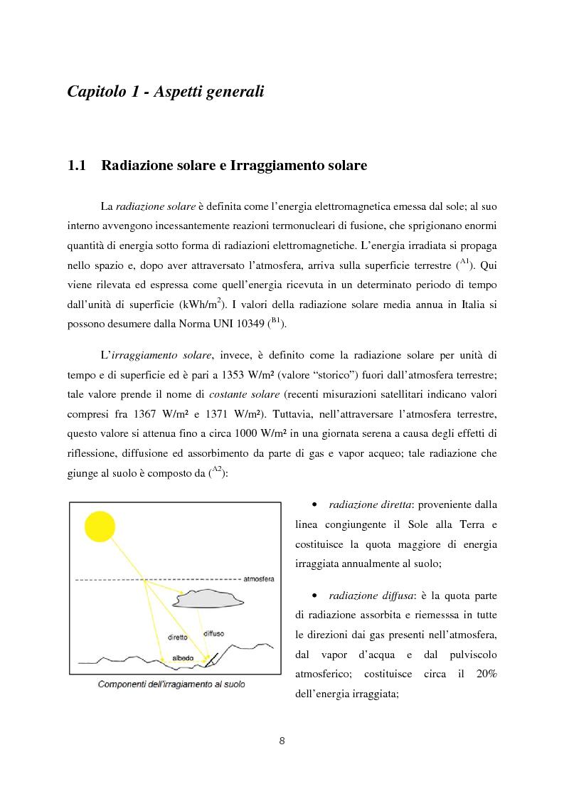 Anteprima della tesi: Progetto di impianto fotovoltaico connesso alla rete in bassa tensione, Pagina 2