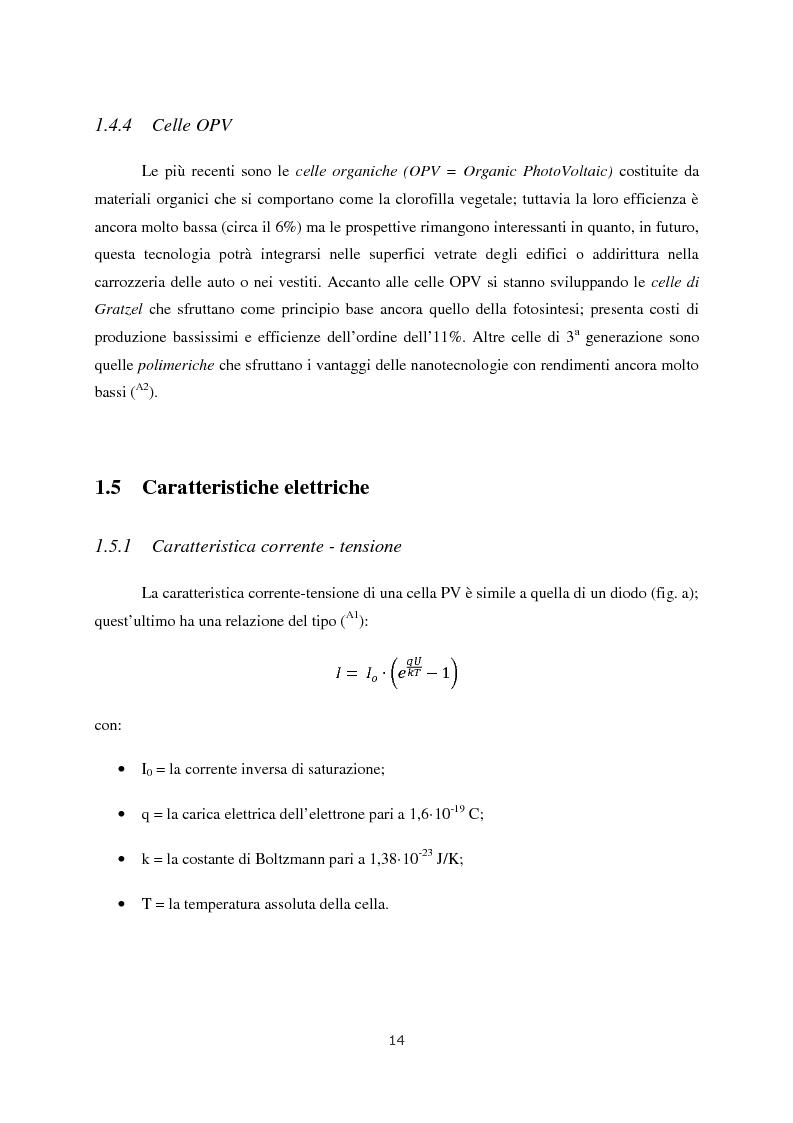 Anteprima della tesi: Progetto di impianto fotovoltaico connesso alla rete in bassa tensione, Pagina 8