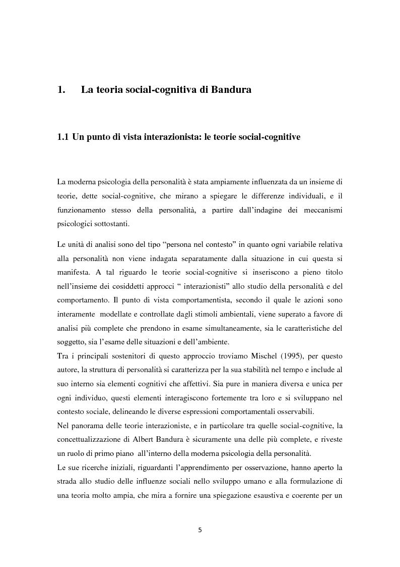 Anteprima della tesi: Convinzioni di autoefficacia e autoregolazione dell'apprendimento:il ruolo delle nuove tecnologie, Pagina 2