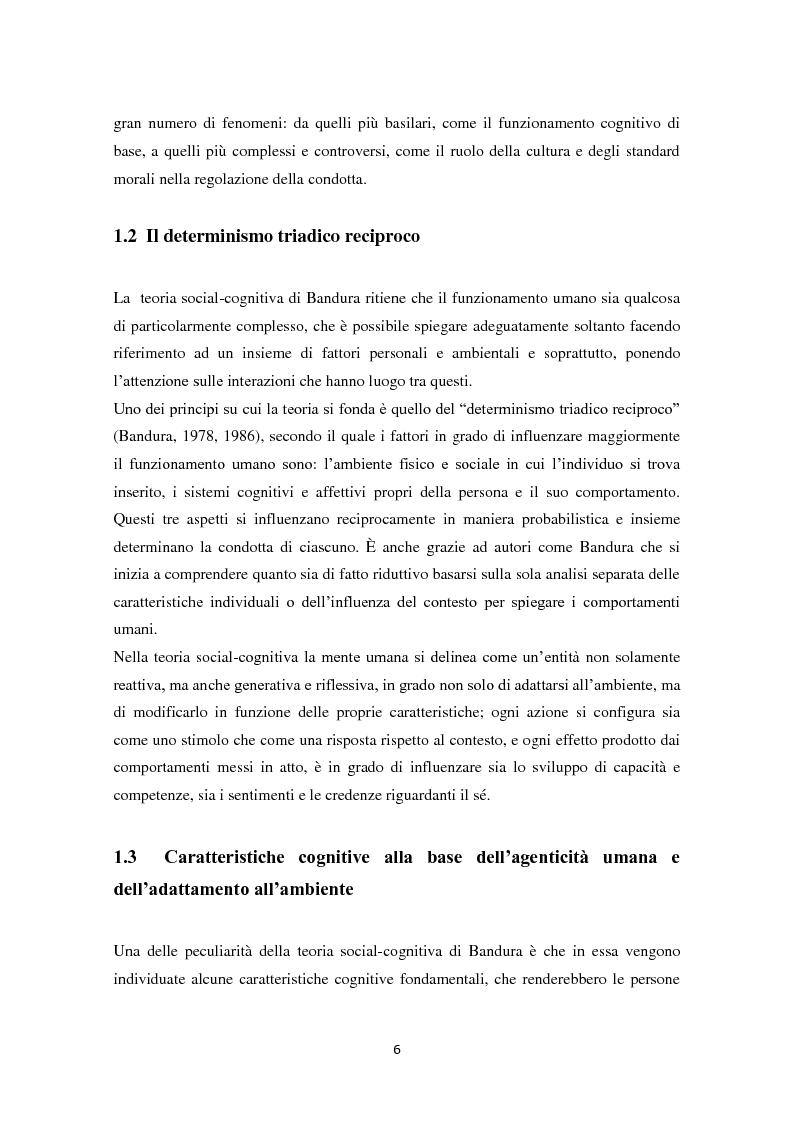 Anteprima della tesi: Convinzioni di autoefficacia e autoregolazione dell'apprendimento:il ruolo delle nuove tecnologie, Pagina 3