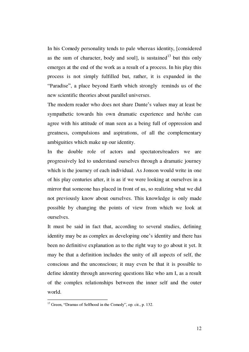 Anteprima della tesi: Renaissance Self-Fashioning: ''Epicoene'' by Ben Jonson, Pagina 10