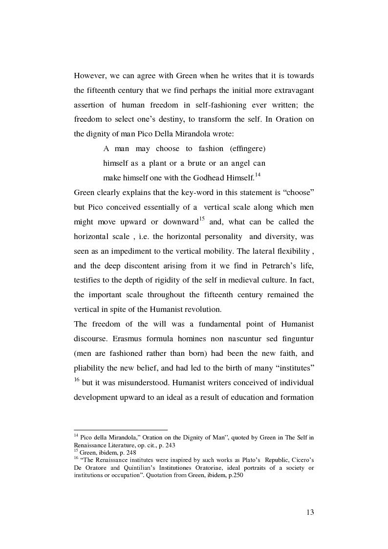 Anteprima della tesi: Renaissance Self-Fashioning: ''Epicoene'' by Ben Jonson, Pagina 11