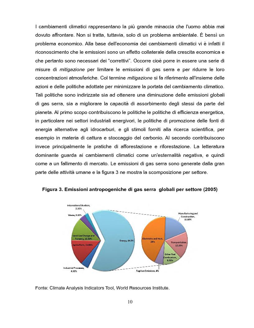 Anteprima della tesi: Economia dei cambiamenti climatici e vulnerabilità nei paesi in via di sviluppo, Pagina 11