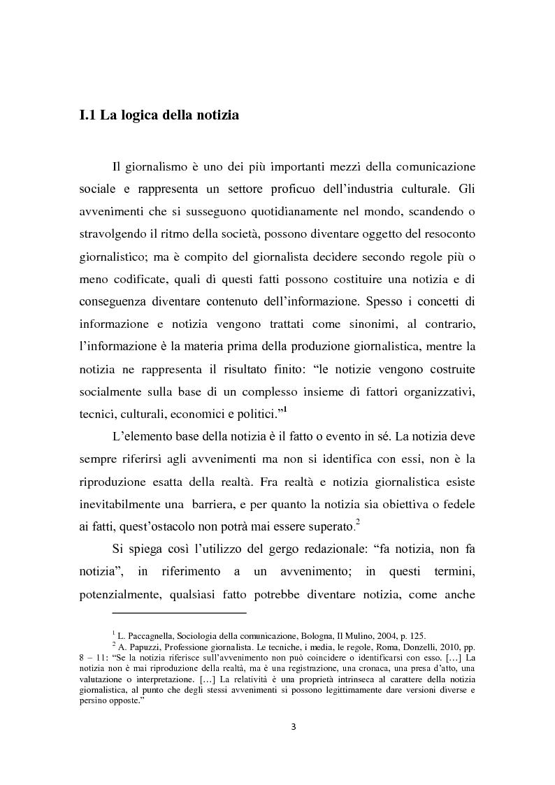 Anteprima della tesi: Dalla notizia al romanzo: volti diversi della cronaca nera, Pagina 3