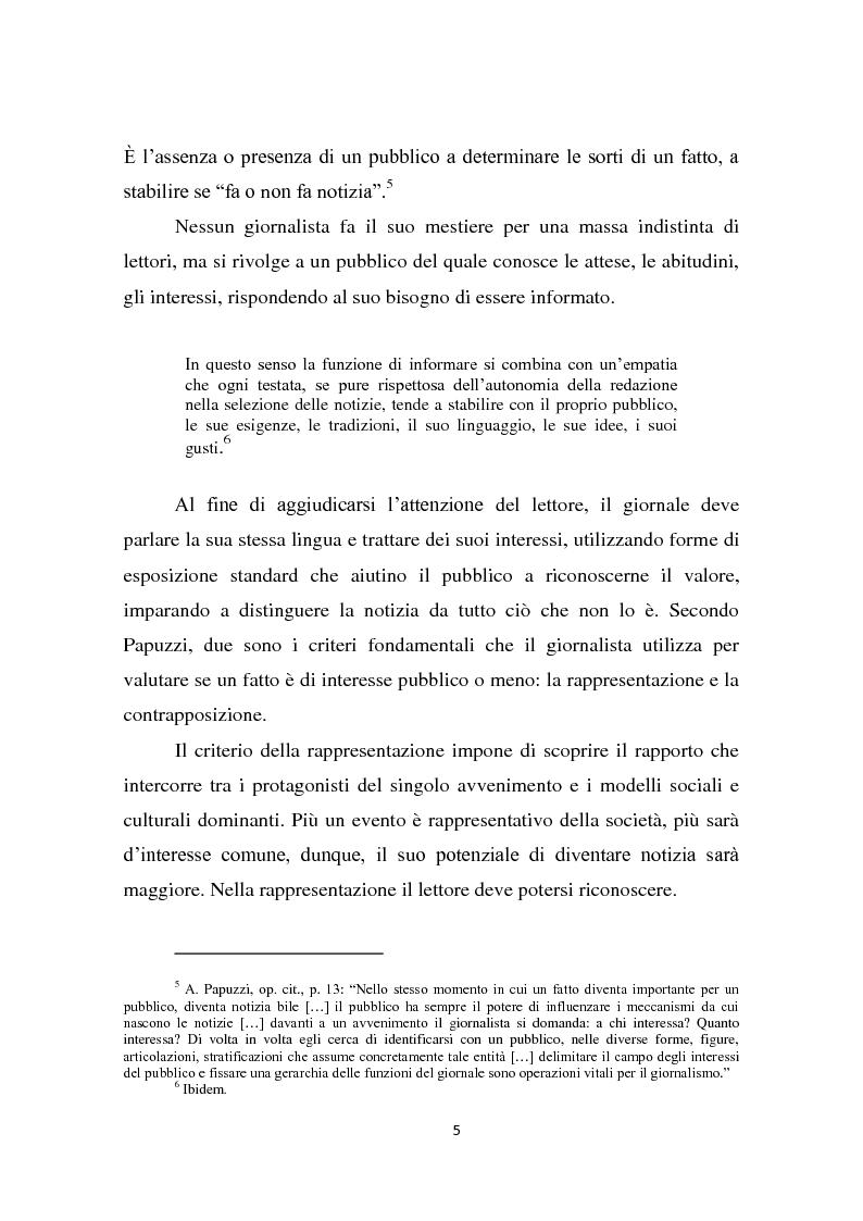 Anteprima della tesi: Dalla notizia al romanzo: volti diversi della cronaca nera, Pagina 5