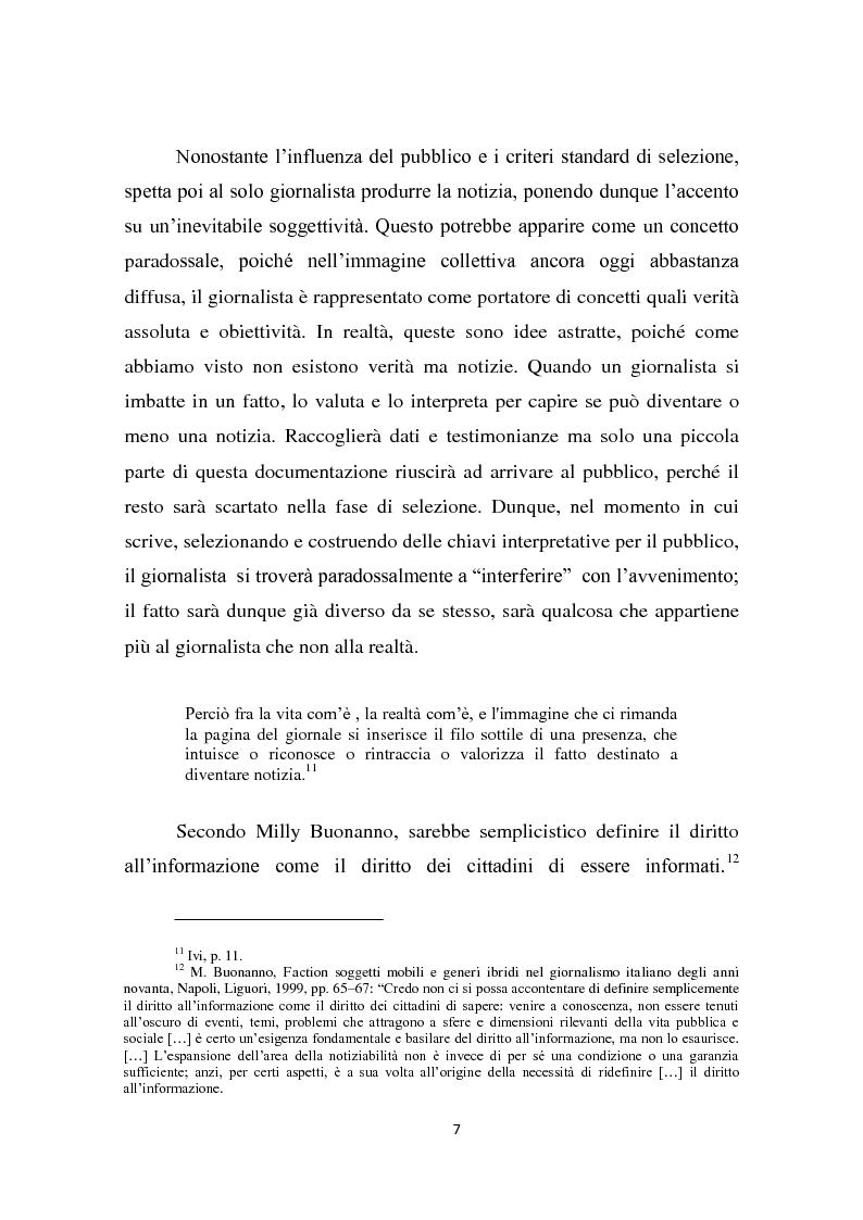 Anteprima della tesi: Dalla notizia al romanzo: volti diversi della cronaca nera, Pagina 7