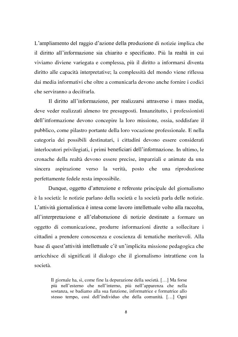 Anteprima della tesi: Dalla notizia al romanzo: volti diversi della cronaca nera, Pagina 8