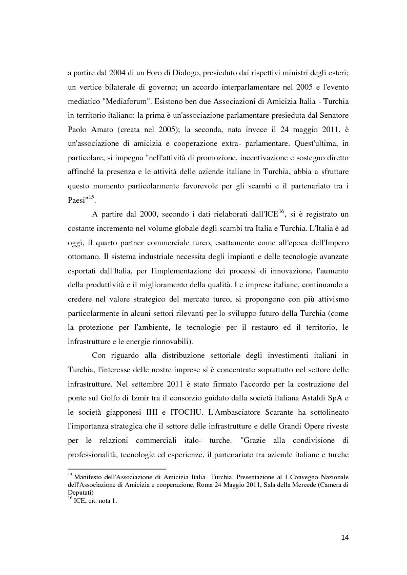 Anteprima della tesi: Il trattamento degli investimenti diretti esteri in Turchia con particolare riferimento agli investitori italiani, Pagina 12