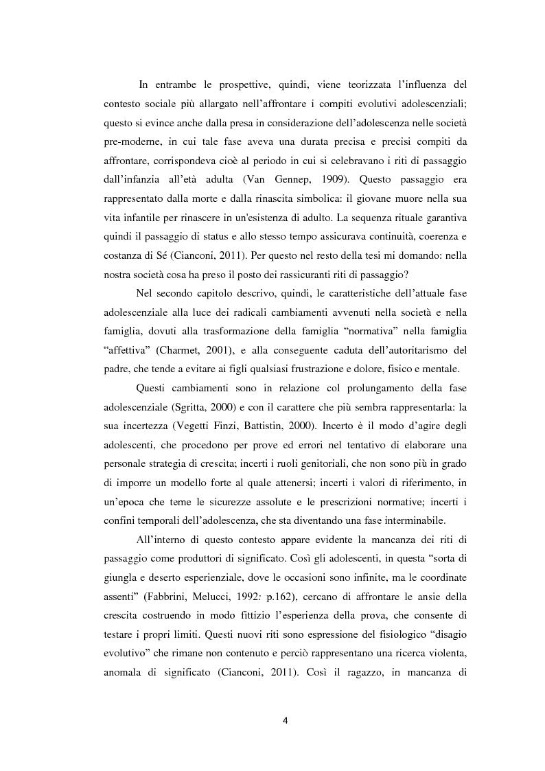 Anteprima della tesi: Compiti evolutivi dei nuovi adolescenti: alla ricerca dell'identità nella società contemporanea, Pagina 3