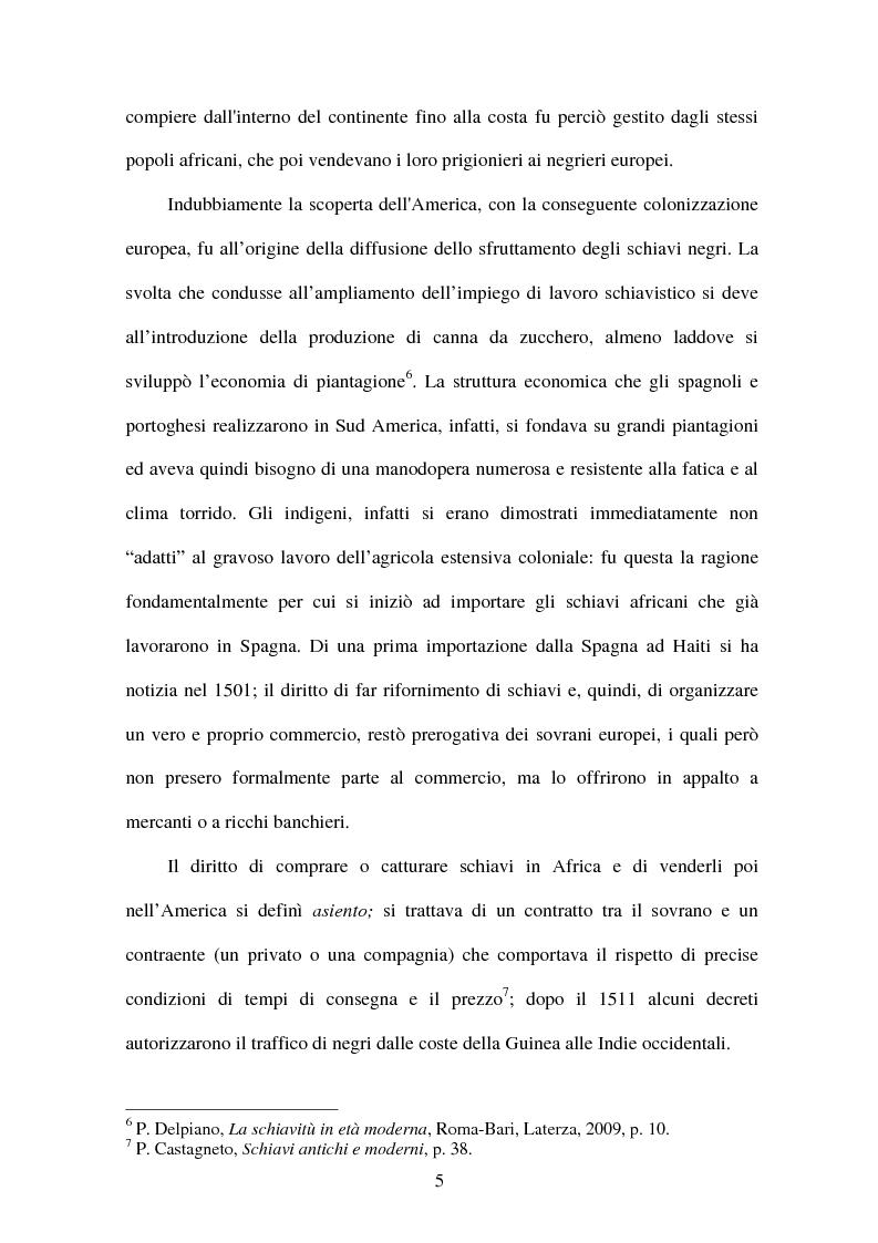 Anteprima della tesi: L'illuminismo e la tratta atlantica degli schiavi: Matteo Angelo Galdi, Pagina 6