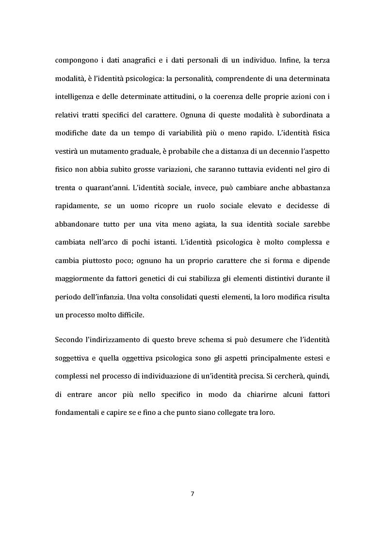 Anteprima della tesi: Identità nel Web: internauti in rotta verso nuovi sé., Pagina 8