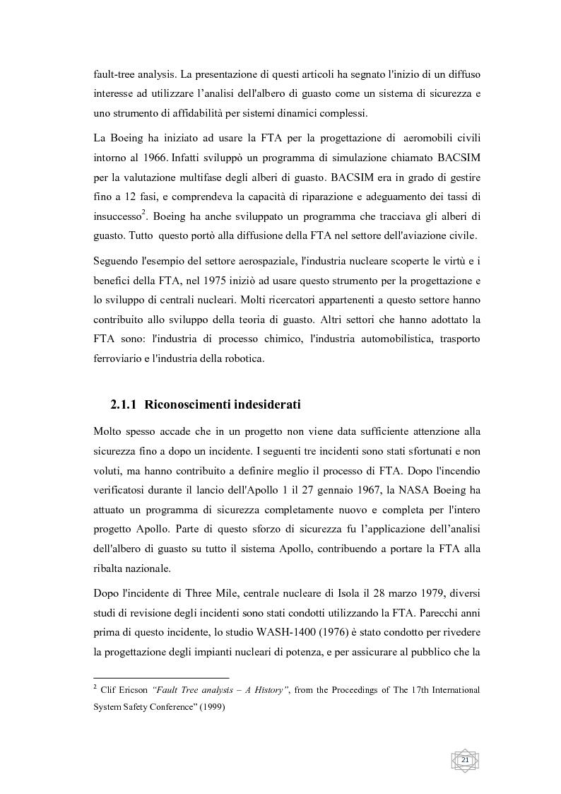 Anteprima della tesi: Risoluzione integrata di alberi di guasto, Pagina 3