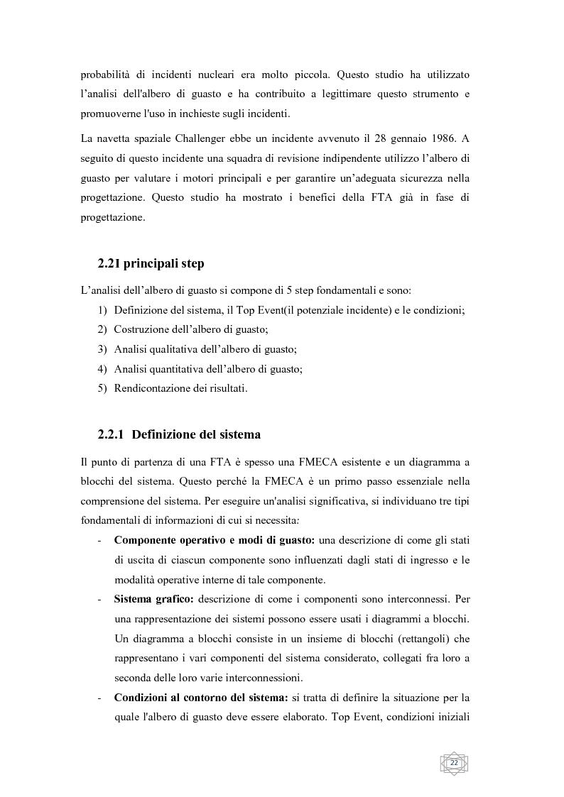 Anteprima della tesi: Risoluzione integrata di alberi di guasto, Pagina 4